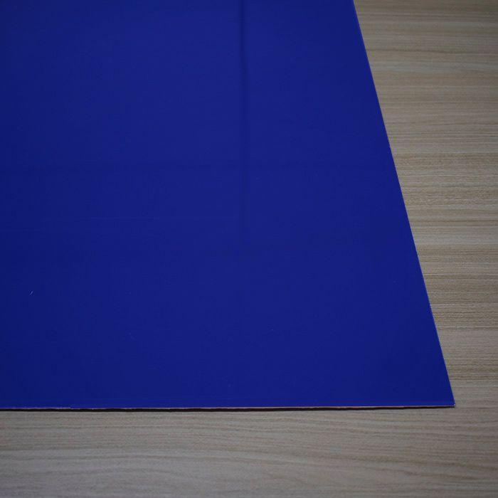 Chapa em Abs Dupla Camada - Azul/ Branco