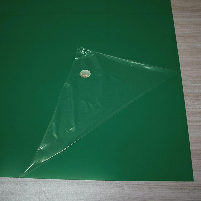 Chapa em Abs Dupla Camada - Verde/ Branco