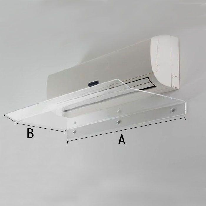 Defletor em Acrílico Para Ar Condicionado Split 22 a 24.000 BTUS