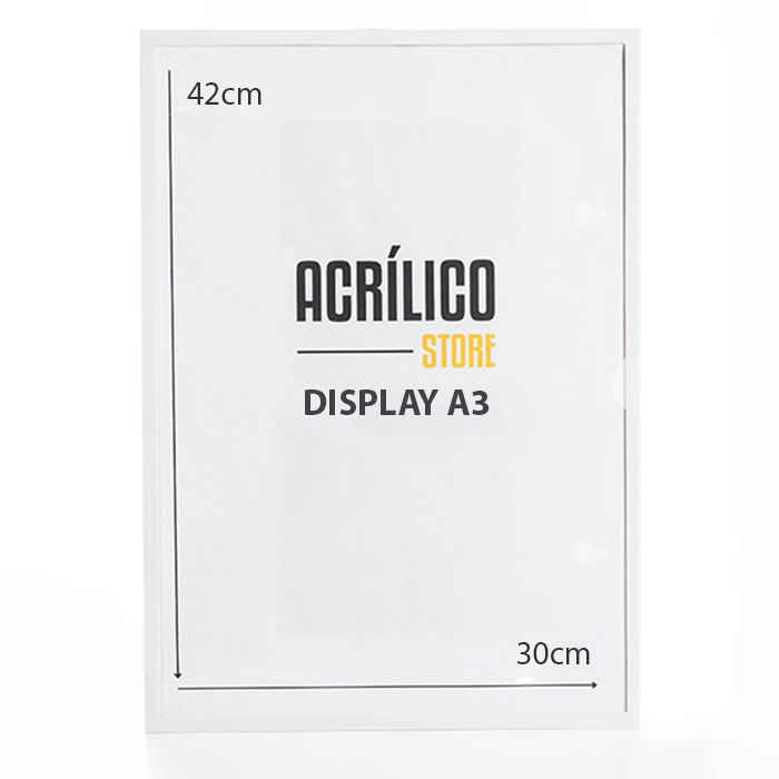 Display A3 Magnético (Imã)