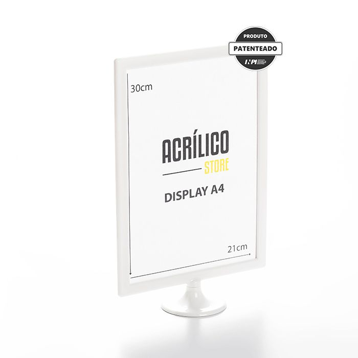 Display A4 (30x21cm)