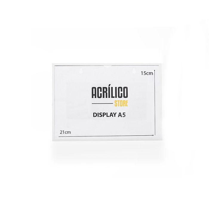 Display A5 Magnético (Imã) - Kit 10, 25 e 50 Peças