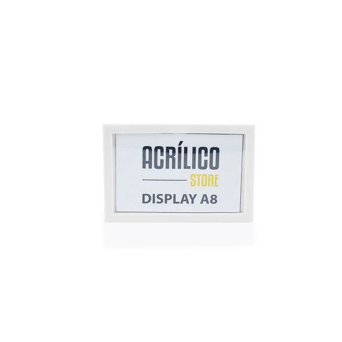 Display A8 Magnético (Imã)