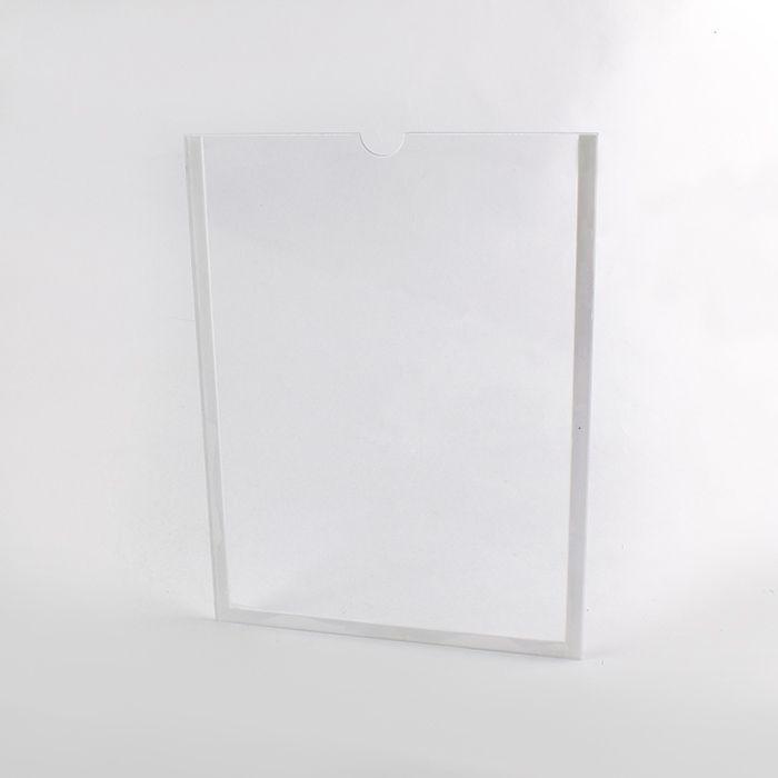 Display de Acrílico de Parede A4 (30x21cm) Kits de 5, 10, 20, 50 e 100 peças.