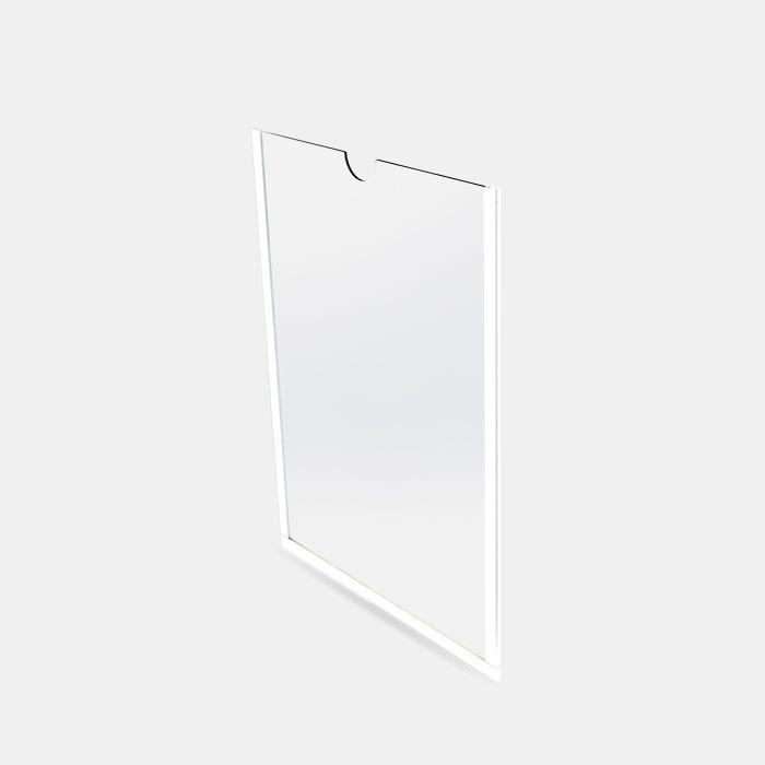 Display em Acrílico de Parede A4 (30x21cm) Kit 10, 20, 50 e 100 Peças
