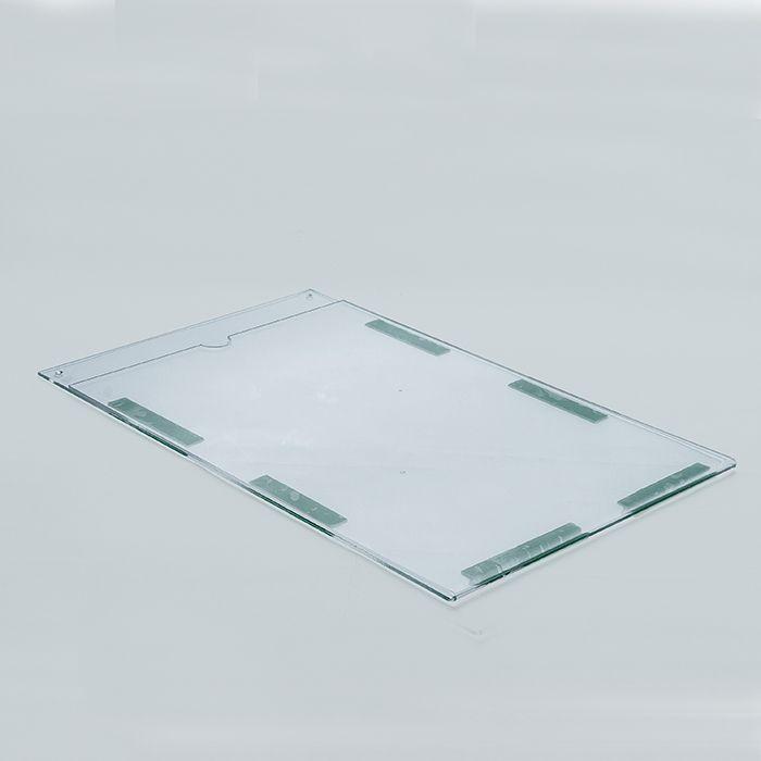 Display em Acrílico Duplo A4 (30x21cm) Kit 10, 20, 50 e 100 Peças