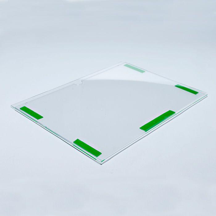 Display em Acrílico Duplo A6 (15x10cm) Kit 10, 20, 50 e 100 Peças