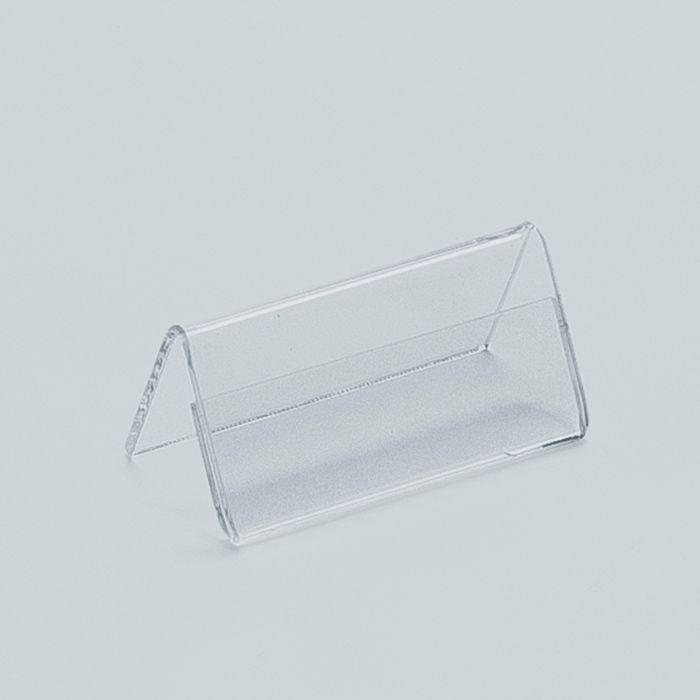 Display de Acrílico Prisma de Mesa 6,5x20cm Kits de 5, 10, 20, 50 e 100 peças.