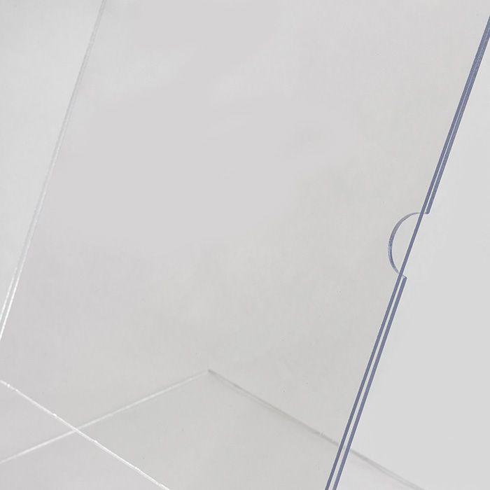 Display em Acrílico Tipo L A4 (30x21cm) Kit 10, 20, 50 e 100 Peças