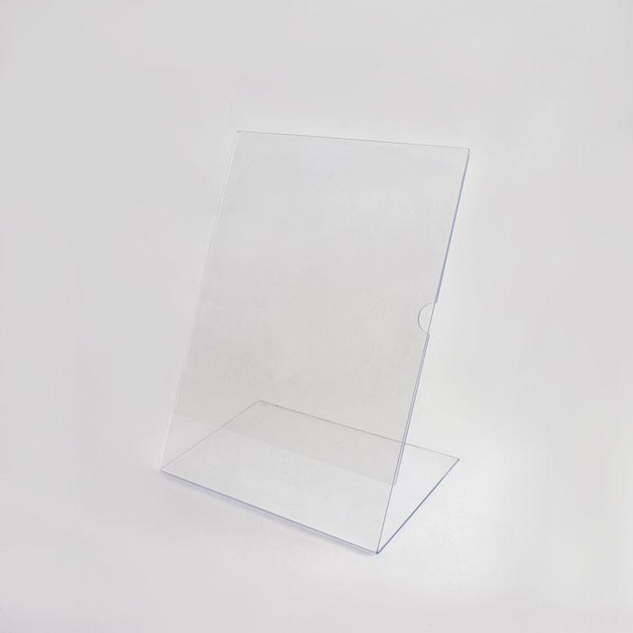Display de Acrílico tipo L A6 (15x10cm) Kits de 5, 10, 20, 50 e 100 peças.