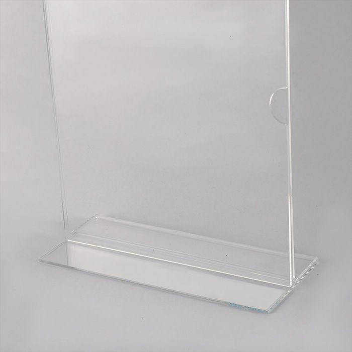 Display de Acrílico tipo T A3 (42x30cm) Kits de 5, 10, 20, 50 e 100 peças.