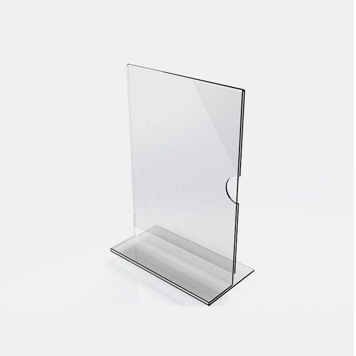 Display em Acrílico Tipo T A3 (42x30cm) Kit 10, 20, 50 e 100 Peças