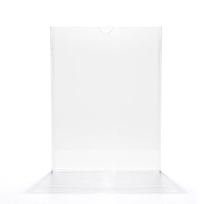Display em Acrílico Duplo A5 (21x15cm) Kit 10, 25, 50 e 100 Peças