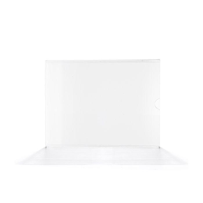 Display em Acrílico Duplo A6 (15x10cm) Kit 10, 25, 50 e 100 Peças