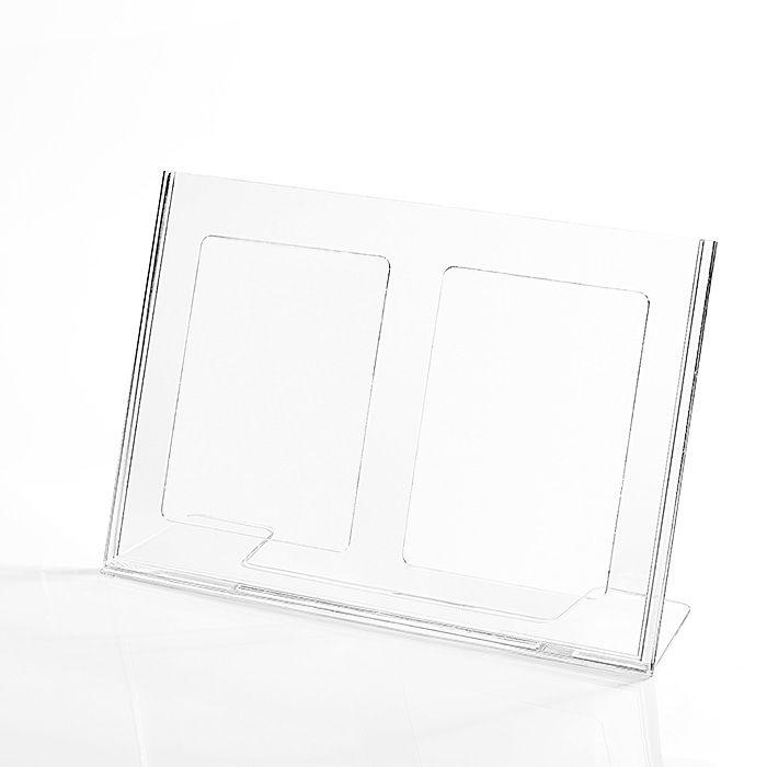 Display em Acrílico Tipo L A4 (30x21cm)