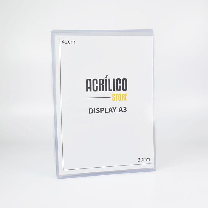 Display Transparente A3 (42x30cm)