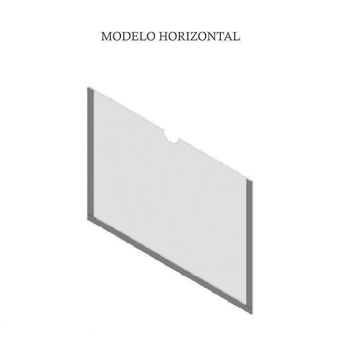 Display Simples de Parede A4 (30x21cm)