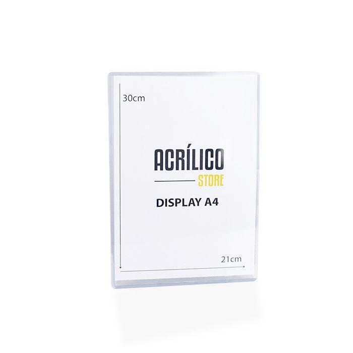 Display Transparente A4 (30x21cm)