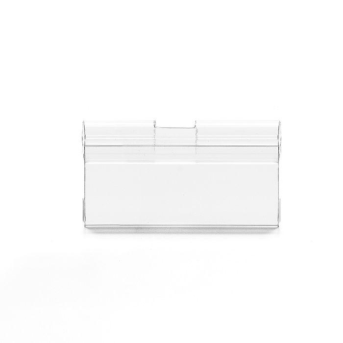 Etiqueta PVC para gancheiras 30x66mm Kit 50 à 1000 Peças