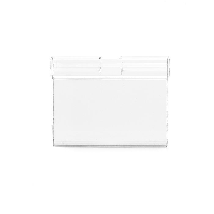 Etiqueta PVC para gancheiras 48x75mm