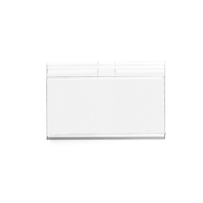 Etiqueta PVC para gancheiras 55x100mm – Kit 50 a 1000 peças