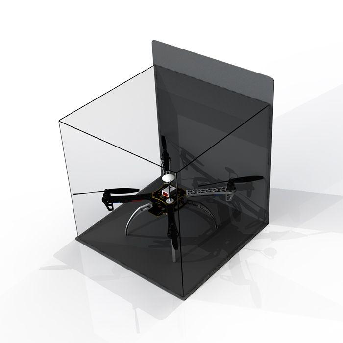 Expositor em Acrílico para Drone