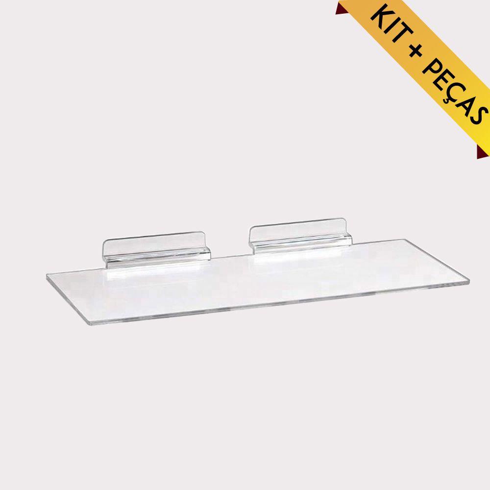 Expositor de Calçado em Acrílico Kit com 10, 50, 100 e 300