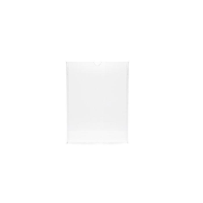 Kit Display em Acrílico Duplo A7 Vertical (7,5x10,5cm) - 100 peças