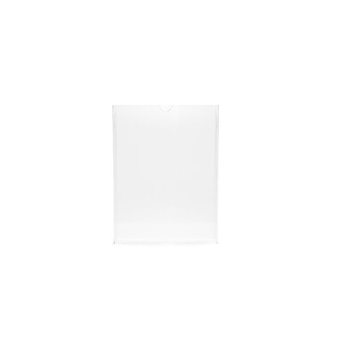 Kit Display em Acrílico Duplo A7 Vertical (7,5x10,5cm) - 10 peças