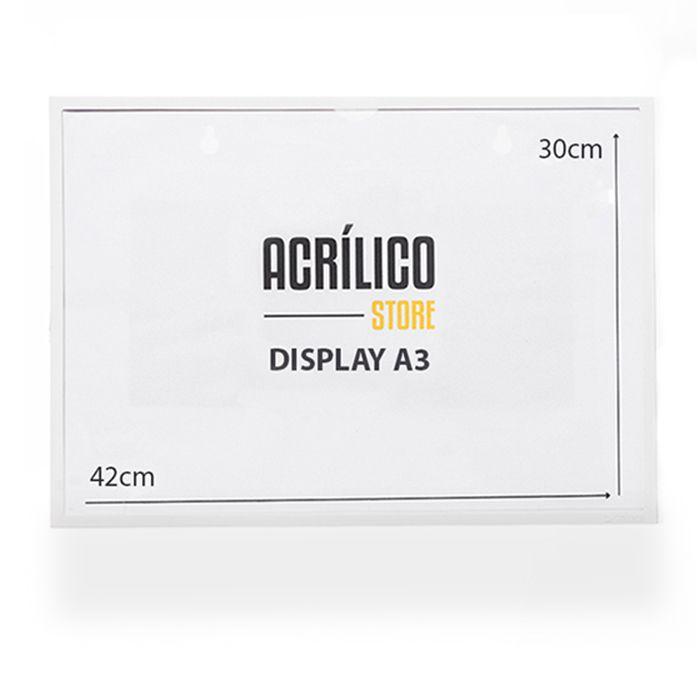 Kit Display Magnético A3 - 25 Peças