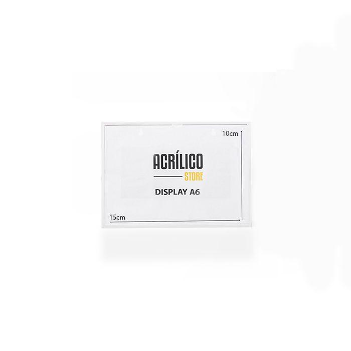 Kit Display Magnético A6 - 10 Peças