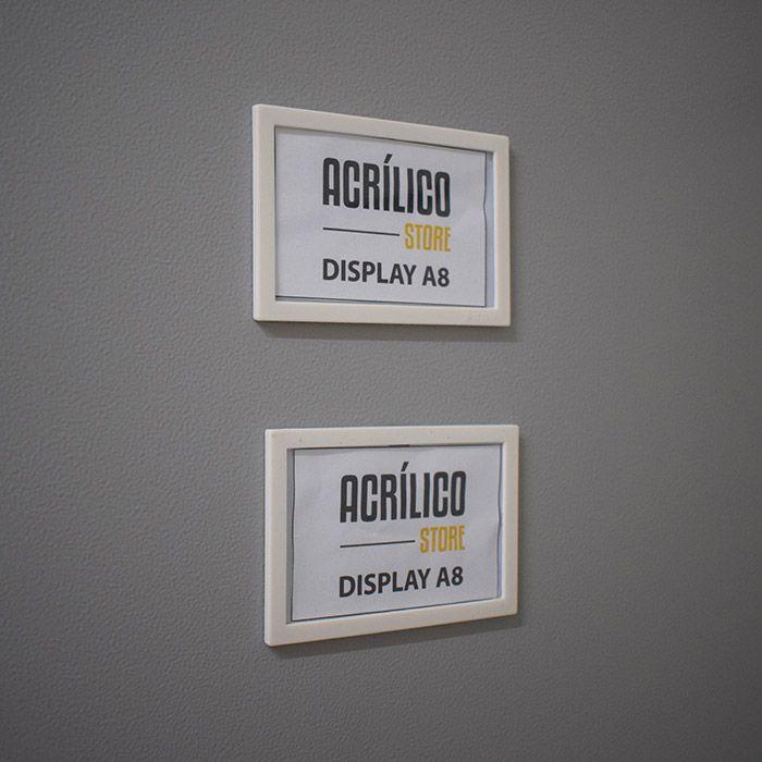 Kit Display Magnético A8 - 10 Peças