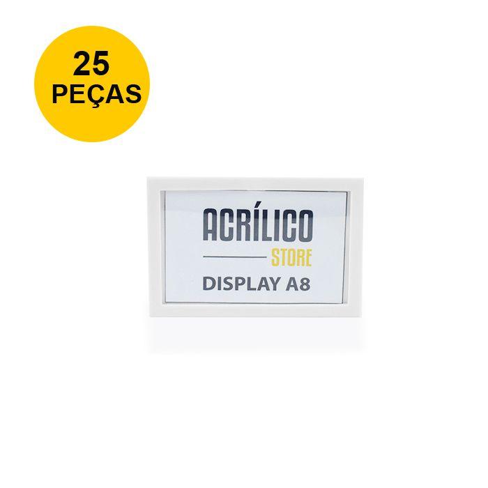 Kit Display Magnético A8 - 25 Peças