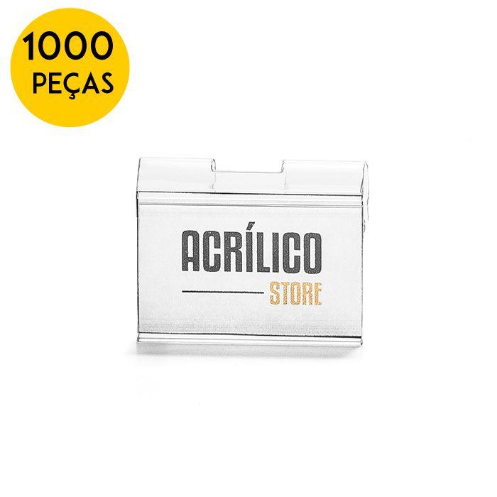 Kit Etiqueta PVC para Gancheiras 30x45mm - 1000 Peças
