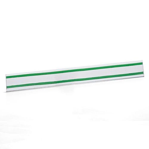 Kit Etiqueta PVC para Gondola Modelo U 30cm - 100 Peças