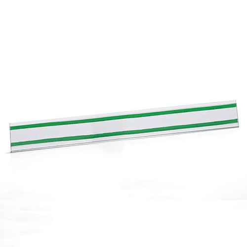 Kit Etiqueta PVC para Gondola Modelo U com 50cm - 100 Peças