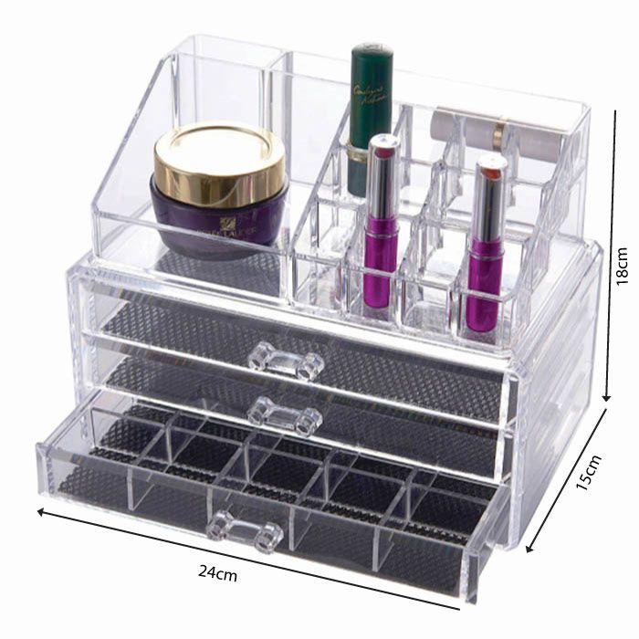 Kit Lightbox e Organizador de Maquiagem