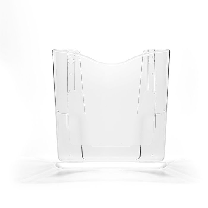Kit Porta Folheto de Parede com Bolsa A4 Vertical (21x30cm) - 10 Peças
