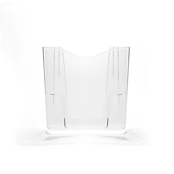 Kit Porta Folheto de Parede com Bolsa A5 Vertical (15x21cm) - 10 Peças