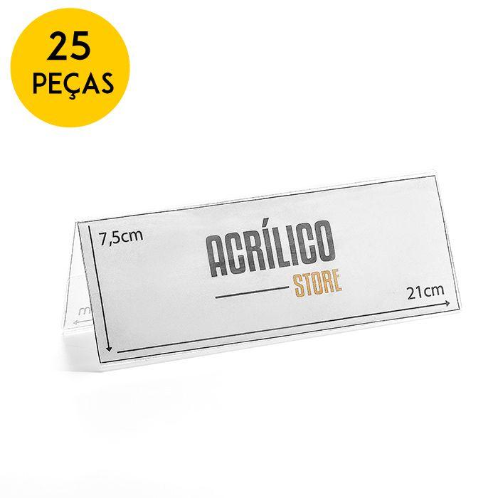 Kit Prisma de Mesa 21x7,5cm - 25 Peças