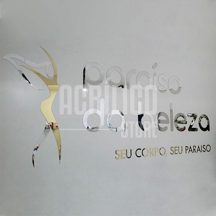 Letras Personalizadas em Acrílico