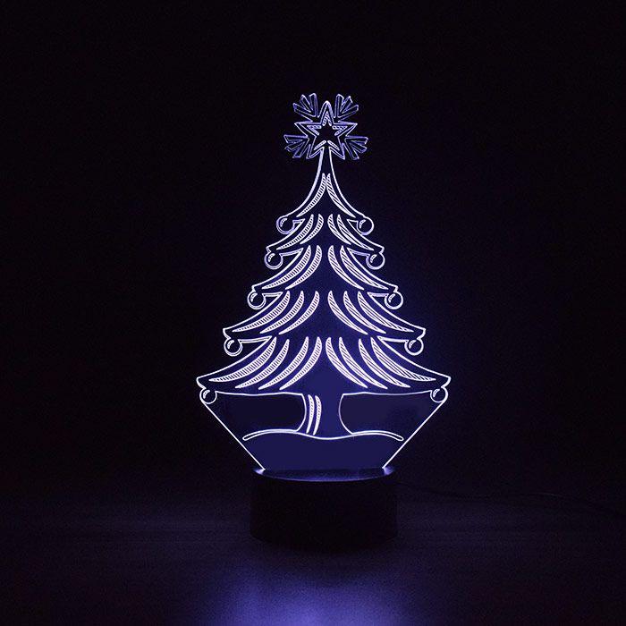Luminária 3D - Árvore Natal