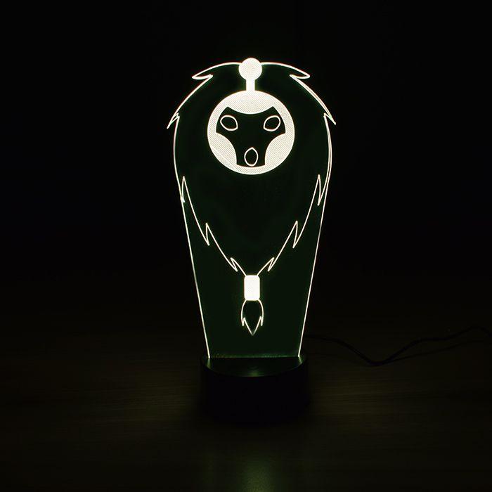 Luminária 3D - Bardo League Of Legends