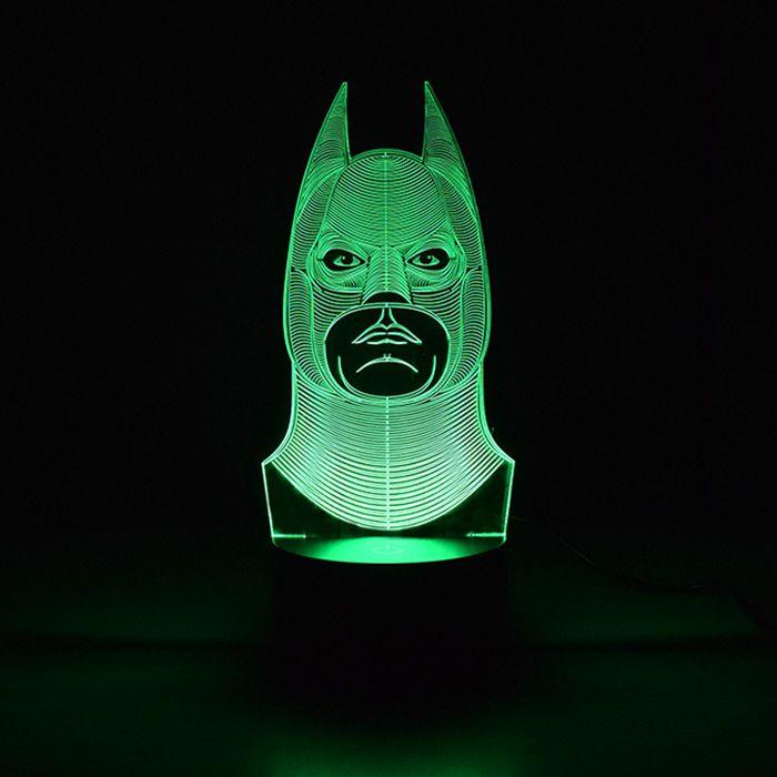 Luminária 3D - Batman