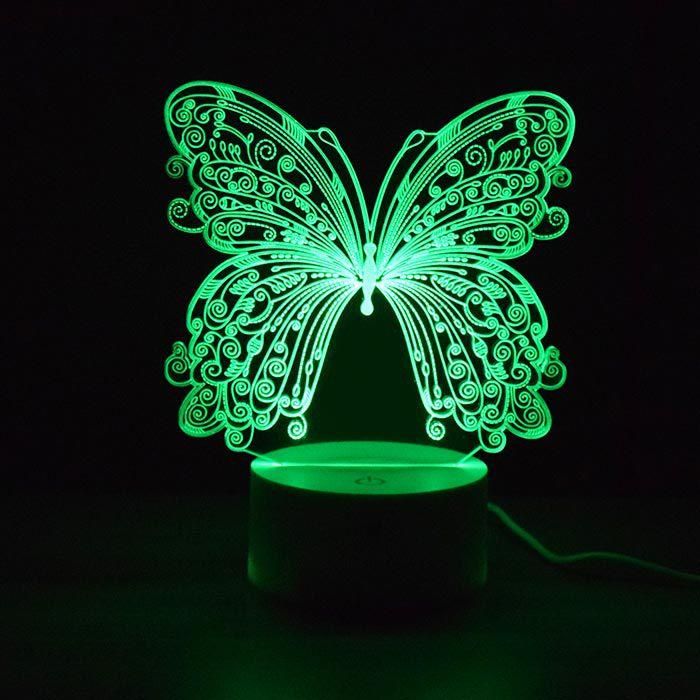 Luminária 3D - Borboleta
