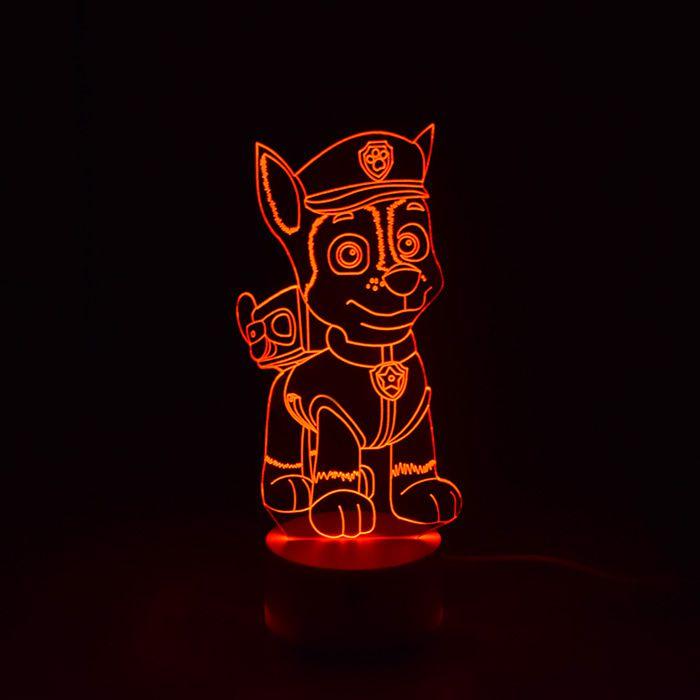 Luminária de Led - Chase Patrulha Canina
