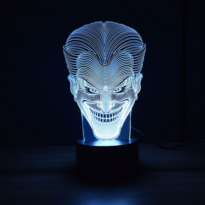 Luminária 3D - Coringa
