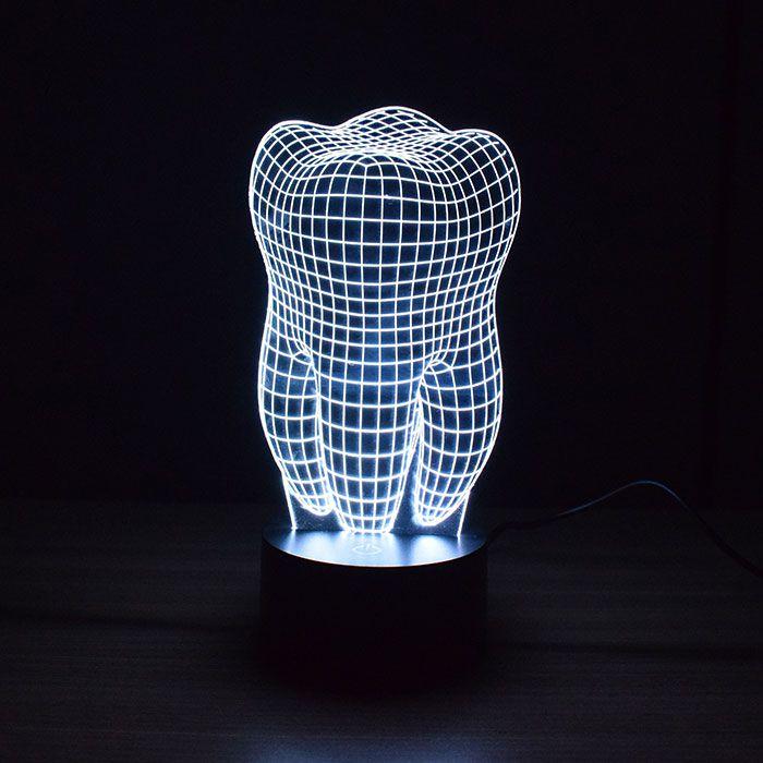 Luminária de Led - Dente