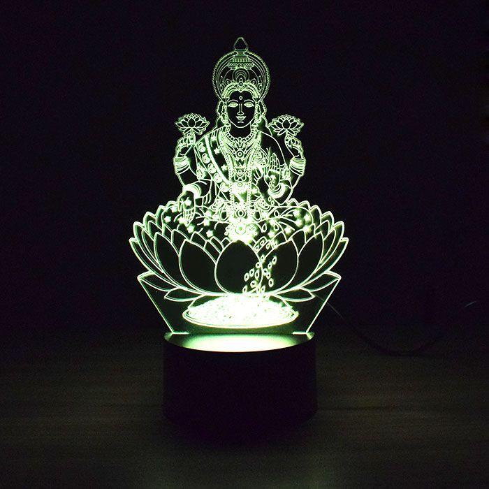 Luminária de Led - Deusa da Sorte