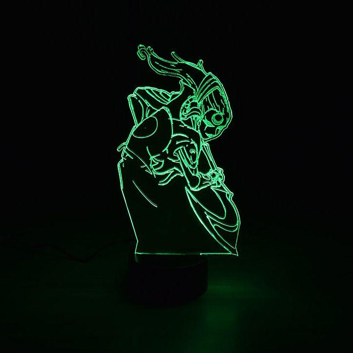 Luminária 3D - Diana League Of Legends